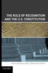 The Rule of Recognition and the U.S. Constitution