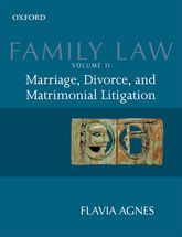 Family Law Volume 2: Marriage, Divorce, and Matrimonial Litigation