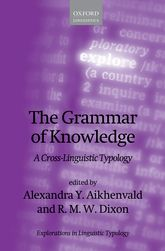 The Grammar of KnowledgeA Cross-Linguistic Typology