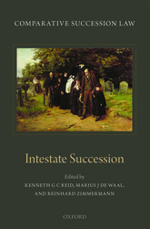 Comparative Succession LawVolume II: Intestate Succession
