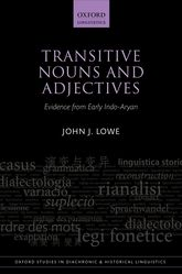 Transitive Nouns and AdjectivesEvidence from Early Indo-Aryan