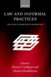 Law and Informal Practices: The Post-Communist Experience