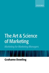 The Art and Science of MarketingMarketing for Marketing Managers