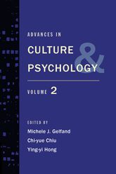 Advances in Culture and Psychology: Volume Two